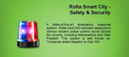 Rolta Smart City- Safety and security